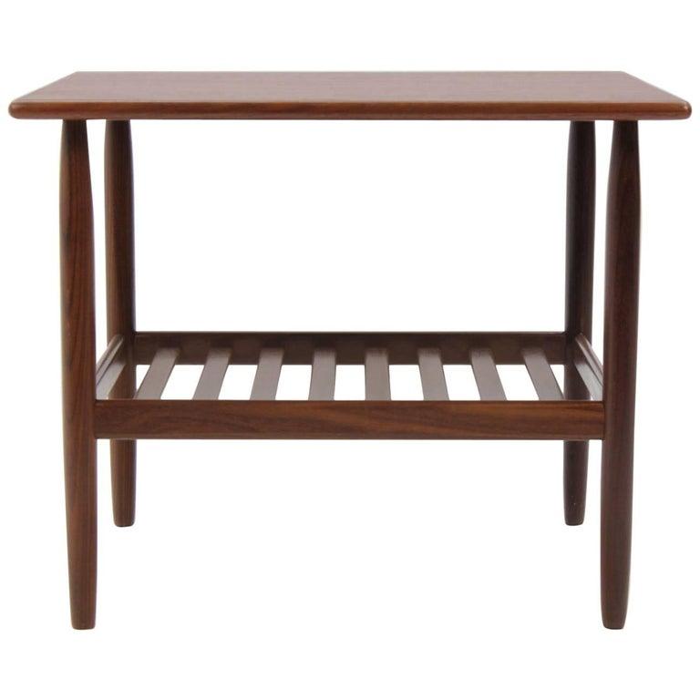 1960 Danish Side Teak Table