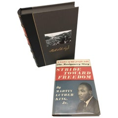 Stride Toward Freedom, Dr. Martin L. King, First Edition in Dust Jacket, 1958