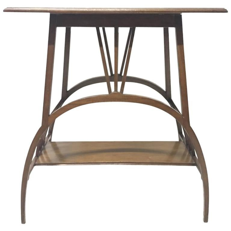 E W Godwin Attributed to an Anglo Japanese Mahogany Side Table