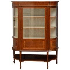 Low Edwardian Display Cabinet