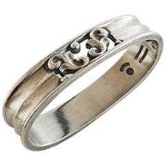 Georg Jensen Sterling Silver Acorn Napkin Ring #110B