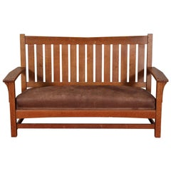 Arts & Crafts L & JG Stickley Settee