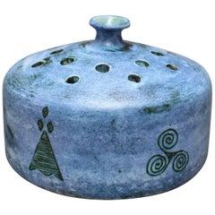 Ceramic Flower Vase by Jacques Blin, circa 1950s