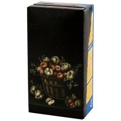 Untitled #6 from 'Biotá' Series, Still Life Painting on Cardboard Box