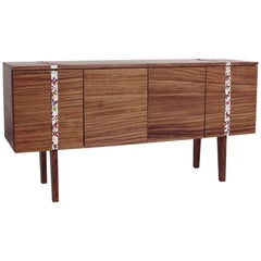 """Secretos"". Mexican contemporany design. Sideboard with embroidery details"