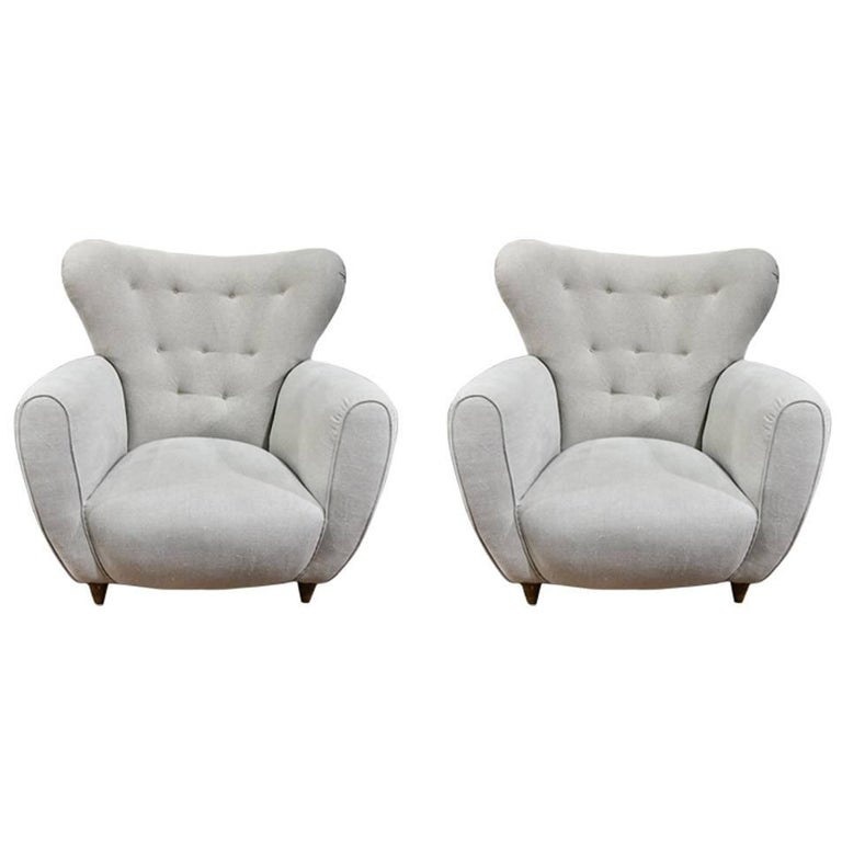 Danish Midcentury Lounge Chairs For Sale