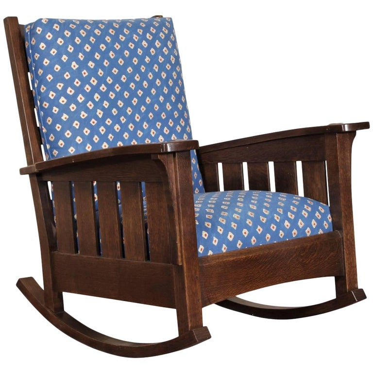 Stickley Quarter Sawn Rocker