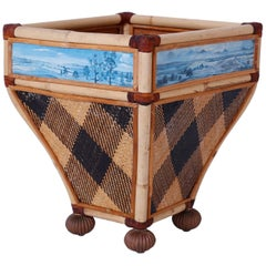 Decorative Waste Basket