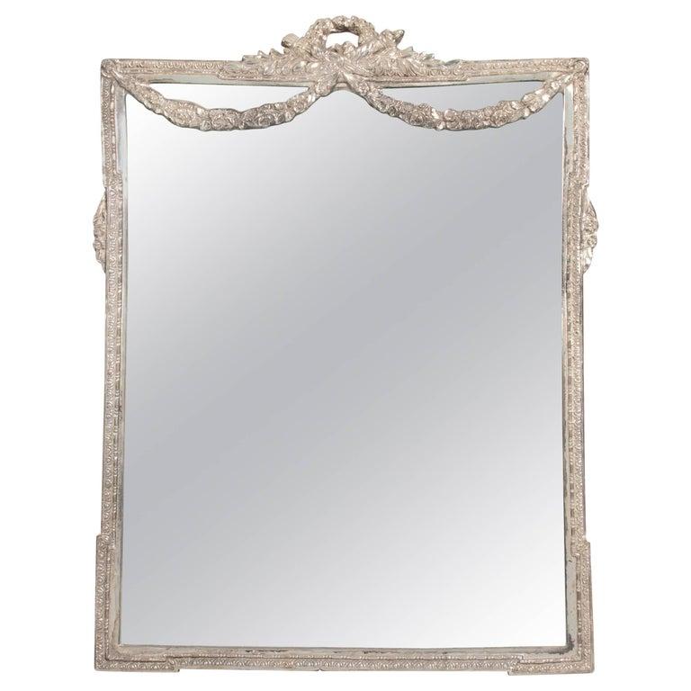 Neoclassical Style Metal Vanity Mirror