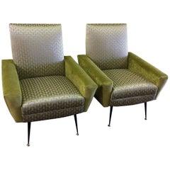Stylish Midcentury Italian Chairs by Gianfranco Frattini