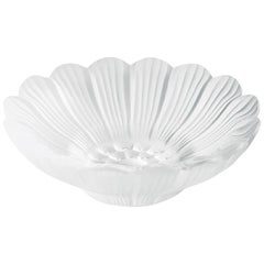 Lalique Pâquerettes Dish in Clear Crystal