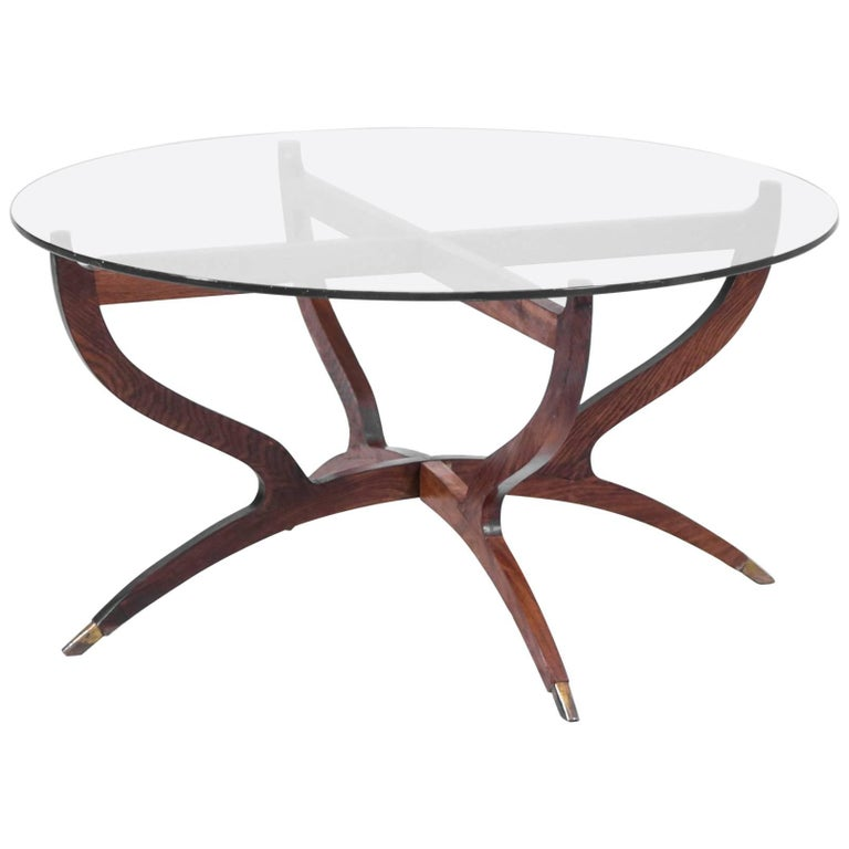 Coffee Table 1960s, in the Style of Gio Ponti