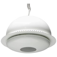 White Nictea Pendant by Afra and Tobia Scarpa