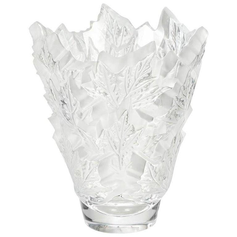 Lalique Elisabeth Vase Clear Crystal For Sale At 1stdibs