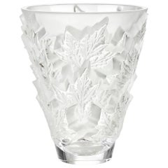 Lalique Champs-Élysées Small Vase in Clear Crystal
