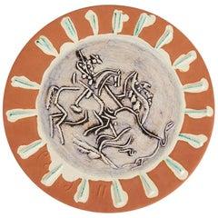 Pablo Picasso Dish, Scène De Tauromachie, 1959 'A.r. 410'