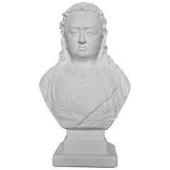 19th Century Bust of Queen Victoria by Robinson & Leadbeater