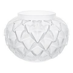 Lalique Languedoc Vase Clear Crystal