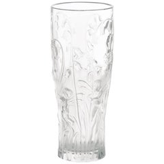 Lalique Elfes Vase in Clear Crystal