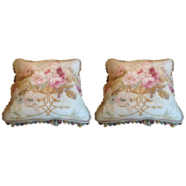 Decorative Pillows French Style Aubusson The Pillow Cushion Covers For
