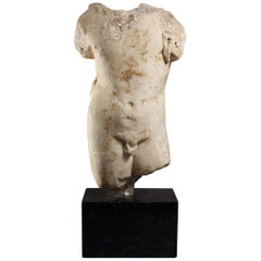 Roman Marble Torso of Hercules as a Child, 1st Century AD