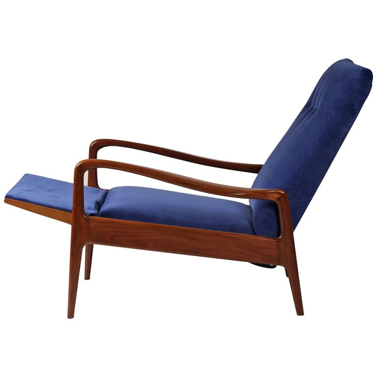 Mid Century Modern Reclining Lounge Chair By Greaves And Thomas For