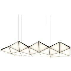 Contemporary Modular Pendant Light Tri Light