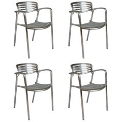 Four Jorge Pensi Chairs for Amat