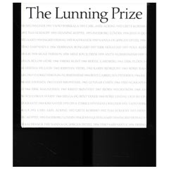 The Lunning Prize - 'Book'