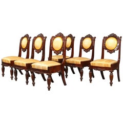 Set of Six Russian Chairs