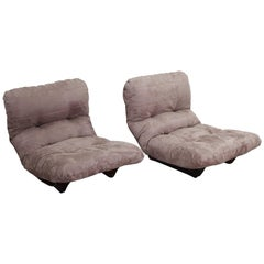 Michel Ducaroy, Pair of Marsala Armchairs for Ligne Roset