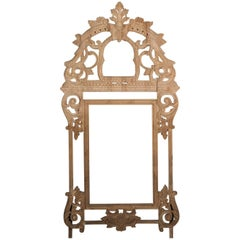 Hand-Carved Pine French Regence Style Frame