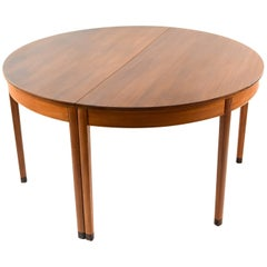 Ole Wanscher for A.J. Iversen Dining Table with Leaves