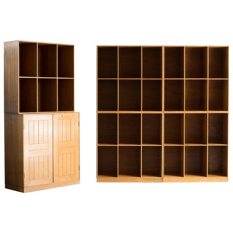 Mogens Koch Bookcases in Walnut for Rud. Rasmussen