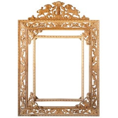 Hand-Carved Regency Pine Frame