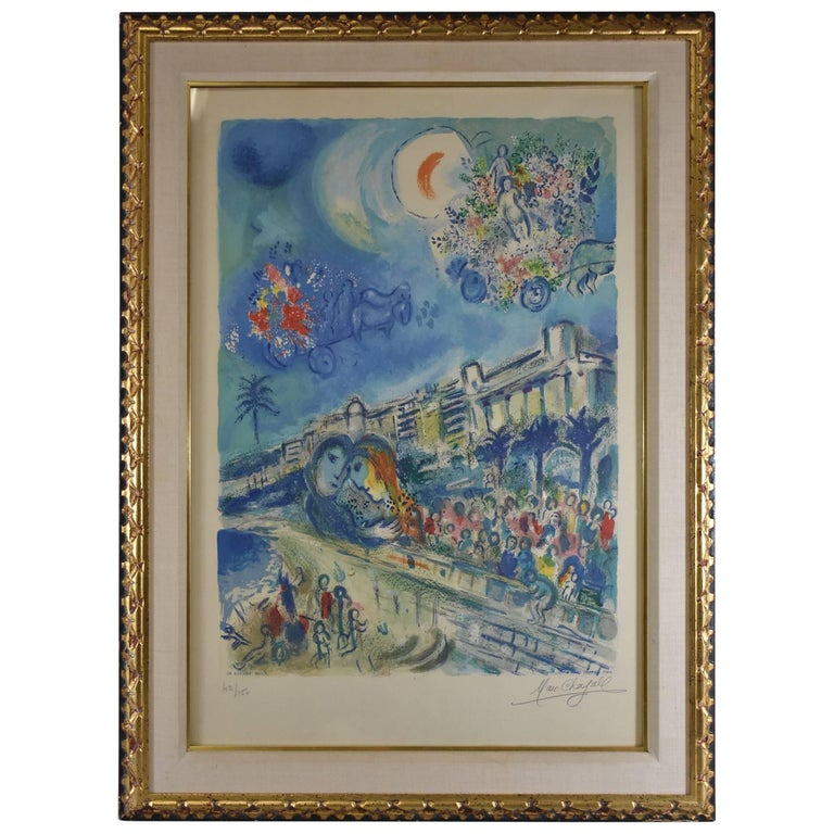 Bataille de Fleurs from Nice and the Cote d'Azur, by Sorlier after Marc Chagall
