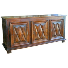 French Walnut Buffet 18th Century