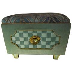 Jewel Box Ottoman