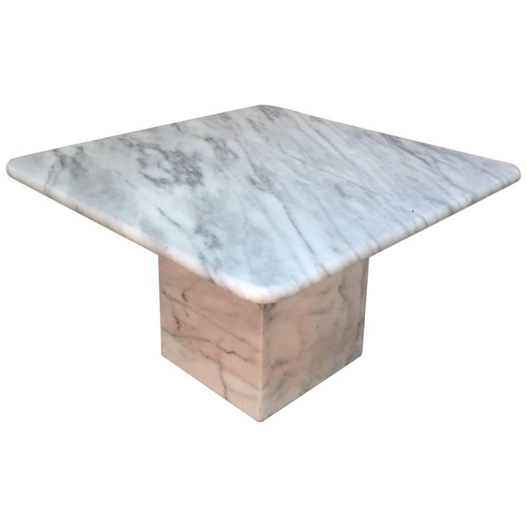 St Century White Carrara Marble Coffee Table For Sale At Stdibs - White carrara marble coffee table
