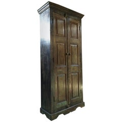 Fabulous Housekeepers Cupboard Pantry French Provincial Distressed Green