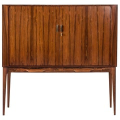 Rosewood Bar Cabinet by Kurt Østervig