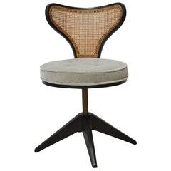Edward Wormley Swivel Chair, Dunbar 1960s