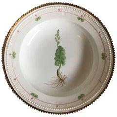 Royal Copenhagen Flora Danica Dessert Plate #735/3546