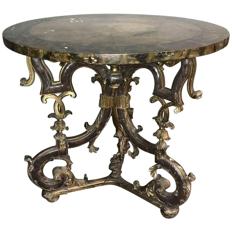 19th Century Italian Baroque Centre Table