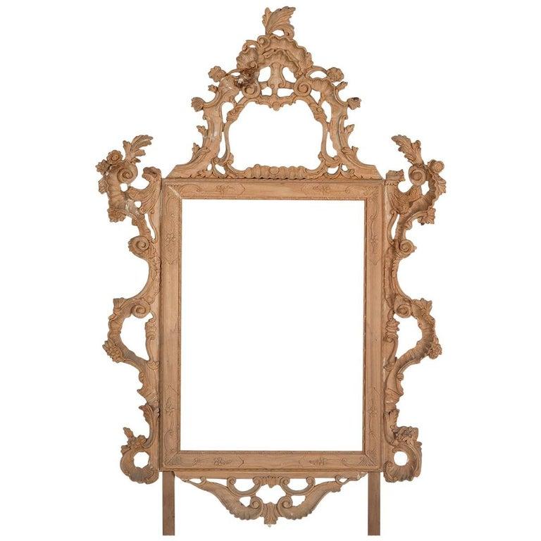 Hand Carved Pine Florentine Baroque Frame