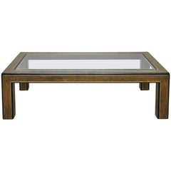 Mastercraft Acid Etched Coffee Table by Bernhard Rohne