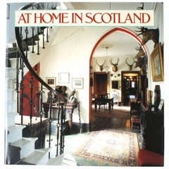 """At Home in Scotland"" by Lesley Astaire and Roddy Martine, First Edition"