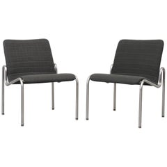 Pair of Kho Liang Ie 703 Lounge Chairs
