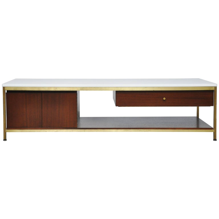 Paul McCobb Console Cocktail Table For Sale