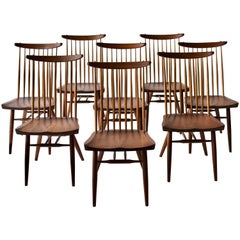 Set of Eight George Nakashima Dining Chairs
